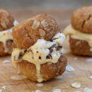 ANZAC biscuit ice cream sandwich