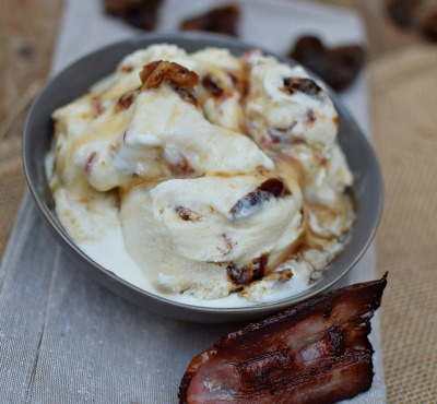 maple and bacon ice cream