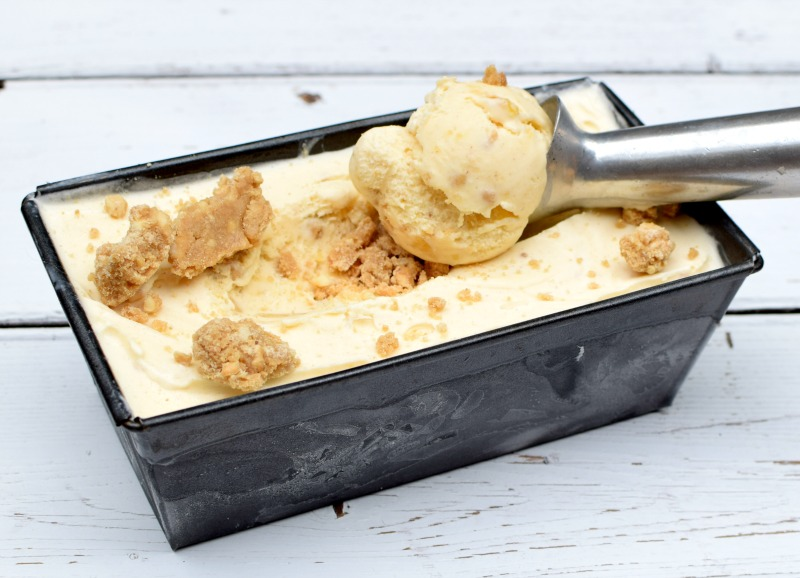 apple crumble ice cream recipe