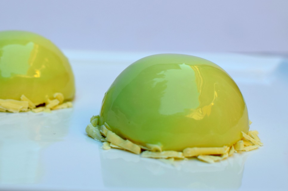 Pistachio Mousse Dome