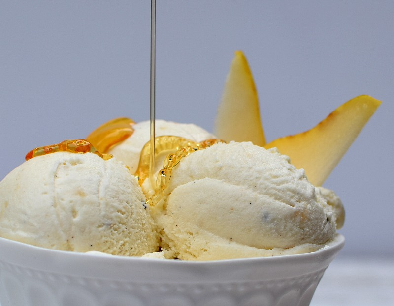 Vanilla Pear Ice Cream