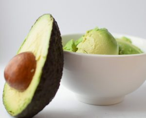 Avocado in a bowl