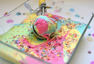 Ice cream scoop guide