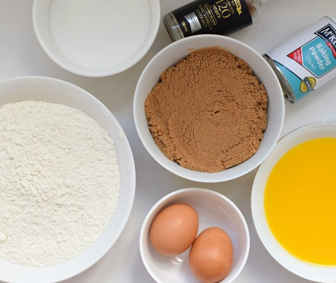 Ingredients for cookie